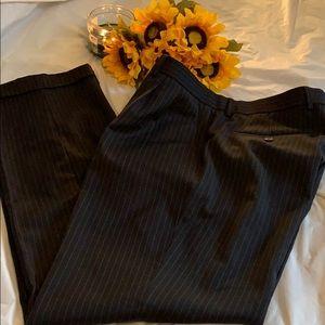 Ralph Lauren Men's Pinstriped Cuffed Wool Pants